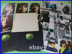THE BEATLES White Album 1968 1st press, stereo, top opener, complete LP 215