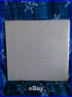 THE BEATLES White Album 1968 2 Vinyl LP Record Low Number #0007688 UK 1st Press