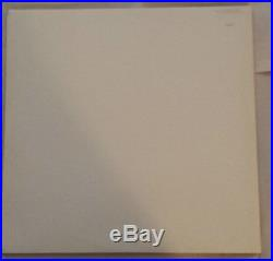 THE BEATLES White Album German DMM 1985 White Vinyl