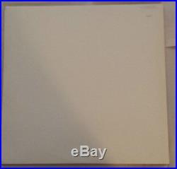 THE BEATLES White Album German DMM 1985 White Vinyl