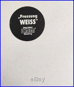 THE BEATLES White Album German DMM 1985 White Vinyl NUMBERED Rare NM hype