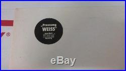 THE BEATLES White Album German DMM White Vinyl Wax Direct Metal Master 2 LP