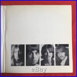 THE BEATLES -White Album- Rare UK Export White Vinyl LP / Apple Records 1978