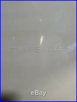 THE BEATLES White Album U. K. 1978 White vinyl SEALED ORIGINAL RARE