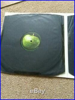 THE BEATLES White Album UK 1968 1ST TOP LOADER # 0539675 STEREO VINYL LP. EXC