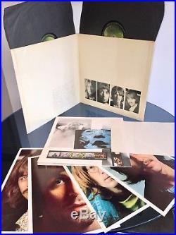 THE BEATLES White Album UK 1968 MONO 1st TOP LOADER 1/1/1/1 NM VINYL LP STUNNING