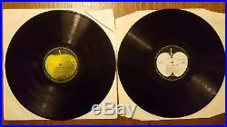 THE BEATLES White Album ULTRA LOW NUMBER #111 UNIQUE GERMAN PRESSING 2x VINYL LP