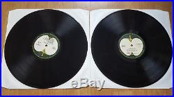 THE BEATLES White Album ULTRA LOW NUMBER No. 000841 VINYL LP EXTREMELY RARE