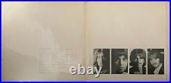 THE BEATLES White Album Very Rare 1968 Parlophone Export Issue vinyl 2xLP