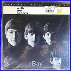 THE BEATLES With The Beatles Mobile Fidelity Sound Lab MFSL SEALED VINYL