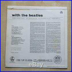 THE BEATLES With The Beatles UK mono 1st press vinyl LP'Jobete' credit 1963