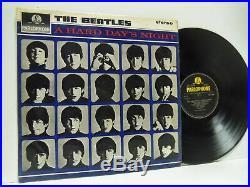 THE BEATLES a hard day's night (1st uk stereo press) LP EX-/VG, PCS 3058, vinyl