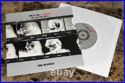THE BEATLES let it be naked RARE 2003 LTD UK 180G VINYL LP + 7 orig press NEW