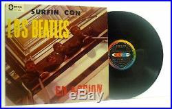 THE BEATLES surfin con los beatles (Venezuelan) LP EX/VG, OLP 382, vinyl, album