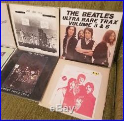 THE BEATLES toql takrl live lp lot RARE yellow matter custard vinyl record