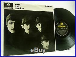 THE BEATLES with the beatles (1st uk mono press jobete) LP EX-/VG PMC 1206 vinyl