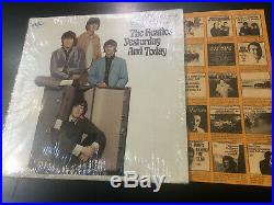 THE BEATLES yesterday and today LP original BUTCHER COVER 2nd state mono SHRINK