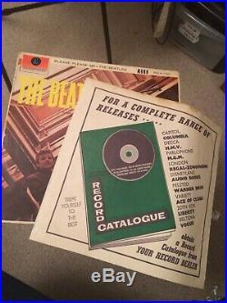 THE BEATLESPLEASE PLEASE MEPMC BLACK GOLD 1202MONO New Zealand 1963 Vinyl LP