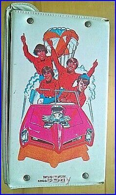 THE MONKEES 1967 Vintage Vinyl Lunchbox with Thermos