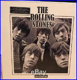 THE ROLLING STONES IN MONO LIMITED OOP 16 vinyl LP BOX SET AUTHENTIC -Beatles