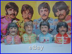 TOBY JUGS. THE BEATLES. SGT PEPPER. FIGURE. LP. CD. VINYL. ABBEY RD. Music. Record