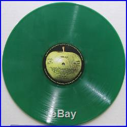The BEATLES Abbey Road 1978 UK ORG EXPORT Only GREEN Vinyl LP McCartney LENNON
