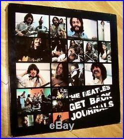 The BEATLES Get Back Journals huge 11 LPs box set all colored vinyl TMOQ scarce