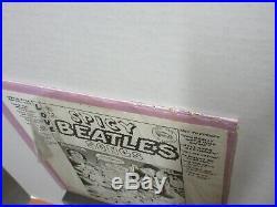 The BEATLES Mary Jane ORANGE Vinyl TMOQ LP Shrink INSERT Lennon McCARTNEY Spicy