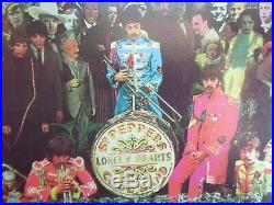 The BEATLES SGT PEPPER'S LONELY HEARTS CLUB BAND Vinyl LP Rare Tracks & Cover