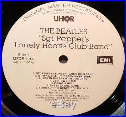 The BEATLES Sgt. Pepper, UHQR! , MFSL / MoFi, #3483. M- Vinyl, Japanese Press