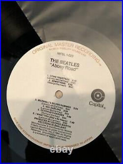 The BEATLES The Collection MFSL 14XLP VG+/NM boxset with booklet geo-disc/inserts