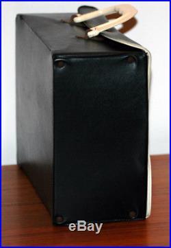 The BEATLES Vintage Original Air Flite Lunchbox Vinyl Case Black RARE