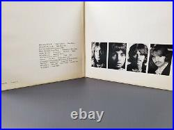 The BEATLES White Album Original LP Vinyl Record 1968 SWBO-101 with all inserts