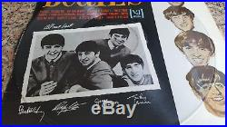 The BEATLES vinyl LP Songs Pictures Stories VJ 1092 RARE PICTURE DISC Holy Grail