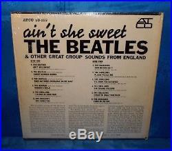 The Beatles 1964 Aint She Sweet Mono Vinyl Record LP Album ATCO 33-169
