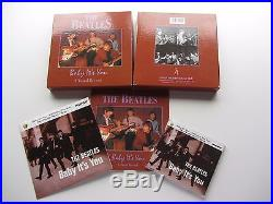The Beatles 1995 Uk Box Set Baby Its You Vinyl Record CD 36 Page Book