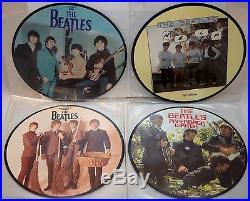 The Beatles 20th Anniversary 22 x Picture Discs Set 7 Vinyl 45RPM Singles UK