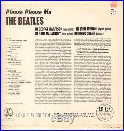 The Beatles(5th State 421-1N/422-1N Vinyl LP)Please Please Me-Parlophon-Ex-/Ex