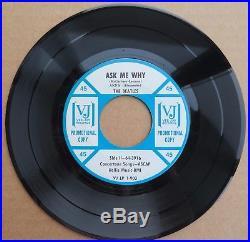 The Beatles'64 EP VJ 1-903 Promo Ask Me Why UNPLAYED Vinyl