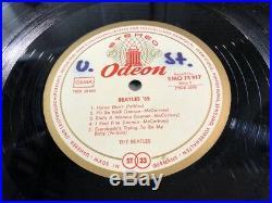 The Beatles'65 vinyl German LP Odeon SMO 83 917 Misprint wrong Revolver label