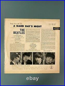 The Beatles A Hard Day's Night 12 Vinyl 1964 Aussie Press VERY RARE VG+