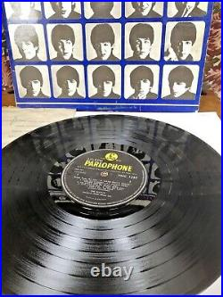 The Beatles A Hard Days Night Early Original 1964 First Vinyl Pressing Ex