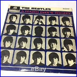 The Beatles'A Hard Days Night' Very Rare, Unusual Labels, 1966 Vinyl LP VG+/VG+