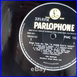 The Beatles A Hard Days Night Vinyl LP UK 1st Press Parlaphone PMC 1230 Mono