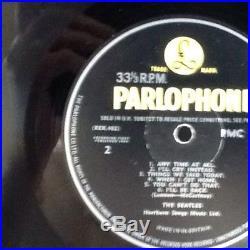 The Beatles A Hard Days Night Vinyl LP UK 1st Press Parlophone PMC 1230 Mono