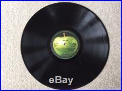 The Beatles Abbey Road 1969 Vinyl Original Album PCS 7088 (YEX. 749/50)
