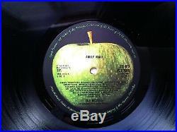 The Beatles Abbey Road 1st Press EX Vinyl Record PCS 7088 Mis-aligned Apple