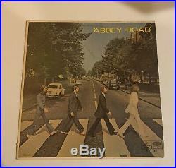 The Beatles Abbey Road Blue Vinyl Edition Bolivian! April 1 (1970)