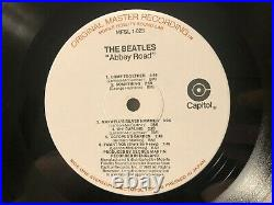 The Beatles Abbey Road LP Mobile Fidelity Sound Lab MFSL 1-023 EX/VG+ Capitol
