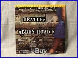 The Beatles Abbey Road LP Vinyl Album Capitol Records MFSL 1-023 EX/EX mofi